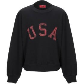 《期間限定 セール開催中》424 FOURTWOFOUR メンズ スウェットシャツ ブラック S コットン 100%