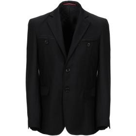 《期間限定セール開催中!》EXIBIT メンズ テーラードジャケット ブラック 46 バージンウール 100%