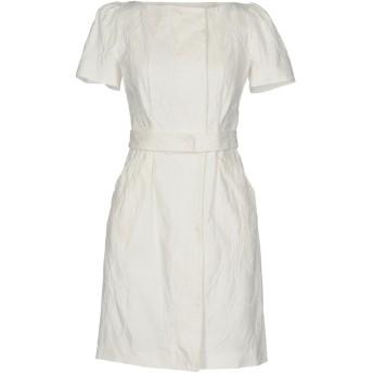 《9/20まで! 限定セール開催中》BLUMARINE レディース ミニワンピース&ドレス ホワイト 40 98% コットン 2% ポリウレタン