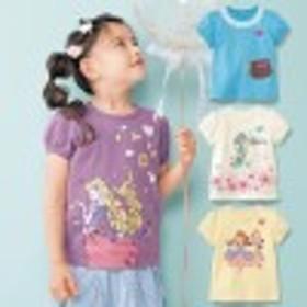 【大人気!4ヶ月で累計販売数5,200枚達成!】名札ココ半袖パフスリーブTシャツ
