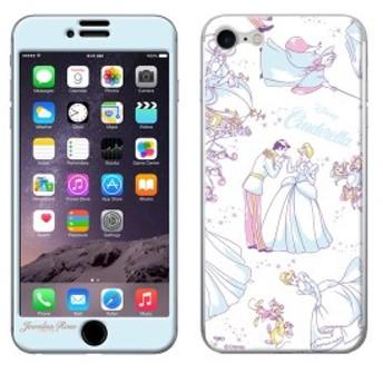 iPhone8 iPhone7 シールケース ディズニー シンデレラ Jewelna Rose ジュエルナローズ ギズモビーズ Gizmobies CINDERELLA 【Gizm】