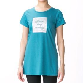【オンワード】 Chacott(チャコット) ワンピースTシャツ ピーコックグリーン L レディース