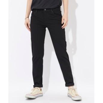Levi's 【涼しいジーンズ】「NEW BOYFRIEND COOL」 テーパードパンツ レディース ブラック
