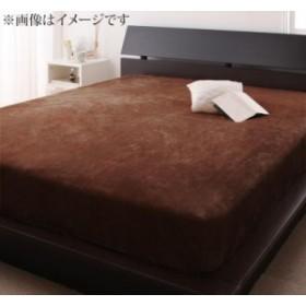 寝心地・カラー・タイプが選べる!大きいサイズのパッド・シーツ シリーズ プレミアムマイクロ ボックスシーツ クイーン ローズピンク