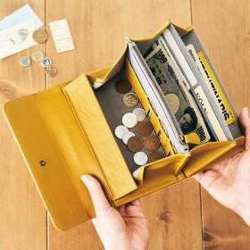 500円玉貯金を応援 3,000円貯まるポケット付きギャルソン財布の会 フェリシモ FELISSIMO【送料無料】