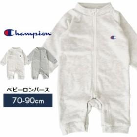 640a3b11426ac チャンピオン Champion ベビー ロンパース ジップアップ カバーオール 男の子 女の子 赤ちゃん 70cm 80cm 90cm