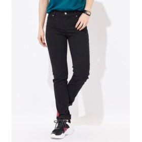 Levi's 【涼しいジーンズ】「312 COOL」 SHAPING(シェイピング)スリムパンツ レディース ブラック