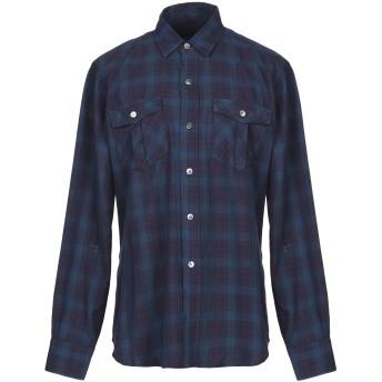 《セール開催中》DEPARTMENT 5 メンズ シャツ ブルー S コットン 100%