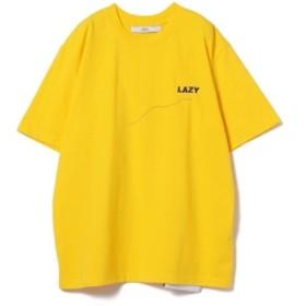 CCRT / No4 LAZY Tシャツ◇ レディース Tシャツ YELLOW ONE SIZE