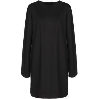 《セール開催中》GIOVANNA NICOLAI レディース ミニワンピース&ドレス ブラック 44 ポリエステル 50% / レーヨン 50%