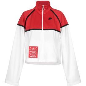 《送料無料》KAPPA KONTROLL レディース スウェットシャツ レッド XS ポリエステル 100%