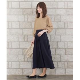 Tiaclasse ティアクラッセ きれい色で彩る、大人のマキシ丈フレアスカート