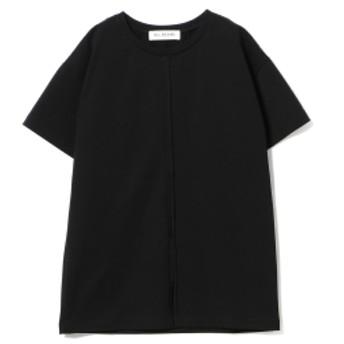 Ray BEAMS / スリット チュニックTシャツ レディース Tシャツ BLACK ONE SIZE