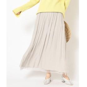 SHIPS for women / シップスウィメン 【手洗い可能】リバーシブルチュールスカート