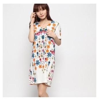 デシグアル Desigual ドレス袖なし (ホワイト)