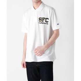 【SALE(三越)】<Champion/チャンピオン> ポロシャツ(C3-P341) 010ホワイト【三越・伊勢丹/公式】