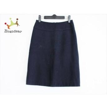 トゥモローランド TOMORROWLAND スカート サイズ36 S レディース 美品 ダークネイビー スペシャル特価 20190729
