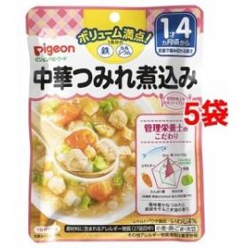 ピジョンベビーフード 1食分の鉄Ca 中華つみれ煮込み(120g5コセット)[ベビーフード(1歳から) その他]
