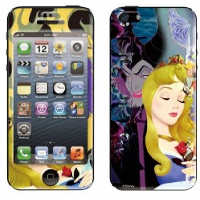 iPhone5s iPhone5 ケース シールケース ディズニー iPhoneシール AHCAHCUM ディズニーキャラクター Nemujo to Majo 【Gizm】