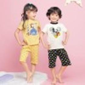 【大人気!4ヶ月で累計販売数3,800枚達成!】おなかがでにくい半袖パジャマ