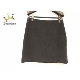 アニエスベー agnes b スカート サイズ38 M レディース 美品 黒   スペシャル特価 20190630