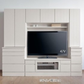圧迫感を抑えた壁面収納テレビ台[日本製]