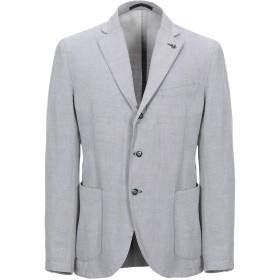《セール開催中》MANUEL RITZ メンズ テーラードジャケット ライトグレー 52 コットン 52% / ラミー 48%