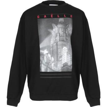 《9/20まで! 限定セール開催中》GALLE Paris メンズ スウェットシャツ ブラック L コットン 100%