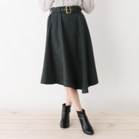 シューラルー(レディス)(SHOOLARUE Ladies)/Lスカート(フラノイレヘムフレアスカート)