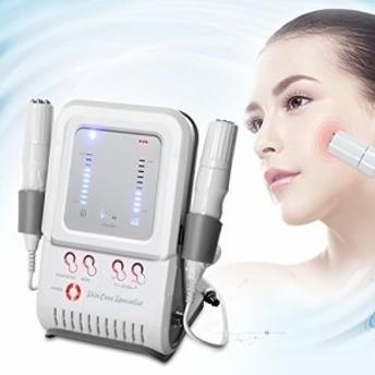 多機能美顔器 家庭用RFラジオ波高周波+アクシダームノンニードルメソセラピー美顔器マシン/イオン導入