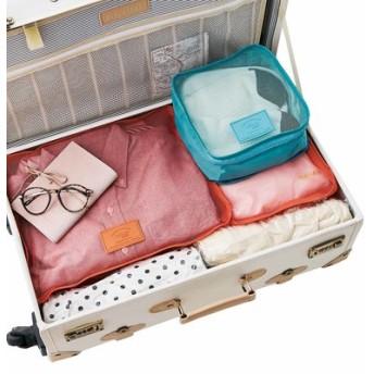 きれいな色で楽しく整理ができる 3つのサイズのポケット付きパッキングセットの会 フェリシモ FELISSIMO【送料:450円+税】