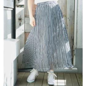 [マルイ]【セール】フレンチリネン混プリーツスカート/ロペピクニック(ROPE' PICNIC)