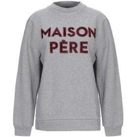 《期間限定セール開催中!》MAISON PRE レディース スウェットシャツ グレー XS コットン 100% / レーヨン