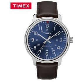 タイメックス 腕時計 42mm メンズコア TW2R85400 ブルー×ダーク TIMEX