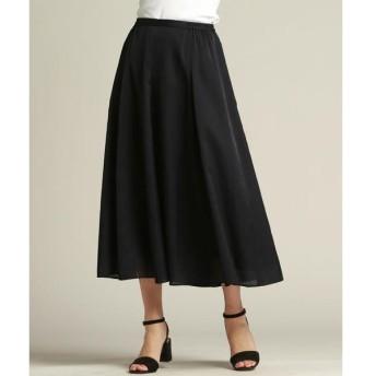 LAUTREAMONT / ロートレアモン エアリーな贅沢フレアーAラインスカート