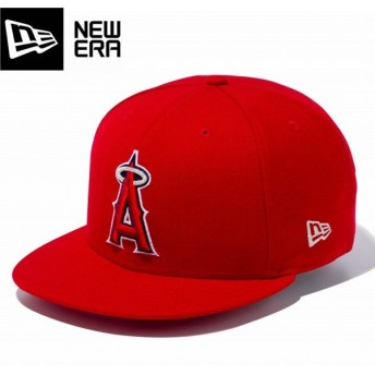 NEW ERA 9FIFTY 【LOS ANGELES ANGELS】 ニューエラ 9FIFTY SCARLET/TEAM COLOR