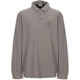 《セール開催中》AERONAUTICA MILITARE メンズ ポロシャツ サンド 3XL コットン 100%