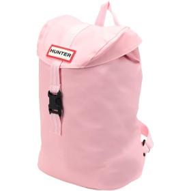 《セール開催中》HUNTER レディース バックパック&ヒップバッグ ピンク ポリ塩化ビニル 100%