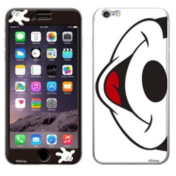 iPhone8 iPhone7 シールケース K.W.H ディズニー キャラクター Mouth to Mouth プロテクター シール ミッキーマウス 【Gizm】