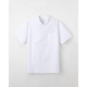ナガイレーベン 男子横掛半袖 KES-5167 サイズL ホワイト