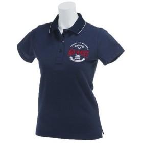 キャロウェイ(CALLAWAY) 17Lリバーシブル鹿の子ポロシャツ 241-7151802-120 NVY  (Lady's)