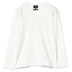 [マルイ]【セール】BEAMS / 天竺 カットオフ VネックTシャツ/ビームス(BEAMS)