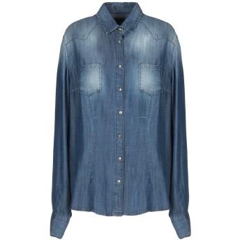 《期間限定セール開催中!》ATOS LOMBARDINI レディース デニムシャツ ブルー 38 指定外繊維(テンセル) 100%