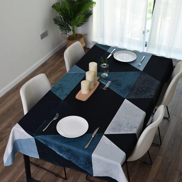 時尚可愛空間餐桌布 茶几布 隔熱墊 鍋墊 杯墊 餐桌巾665  (100*140cm)