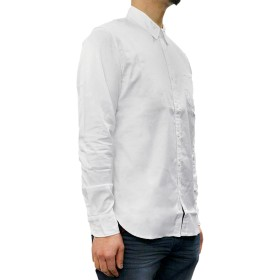 シャツ - BIRIGO リーバイス メンズ トップス LEVIS 06582-0025 MADE & CRAFTED ワンポケット オックスフォードシャツ Levi's カジュアル ブランド ウェア アメカジ メイド クラフテッド 白 ホワイト 無地 長袖 ボタンダウ