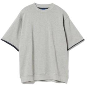BEAMS / カーリング 半袖スウェット メンズ スウェット TOP. GREY L