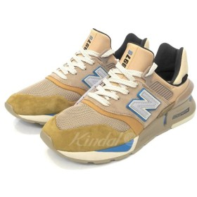 KITH × nonative × NEW BALANCE 「997 HYBRID made in U.S.A MS997TH」スニーカー デューン