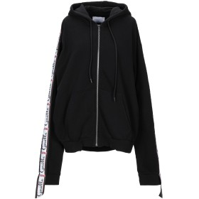 《セール開催中》GALLE Paris レディース スウェットシャツ ブラック 1 コットン 100%