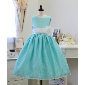 8342c8468f40b リトルプリンセス 子供ドレス 017009 レディース ブルー 130cm  Little Princess