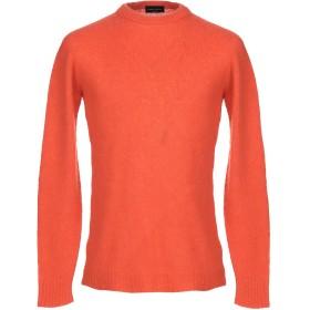 《セール開催中》ROBERTO COLLINA メンズ プルオーバー オレンジ 46 カシミヤ 72% / シルク 28%